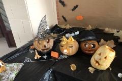 Concurso de Halloween 2019-2020. Exposición de calabazas